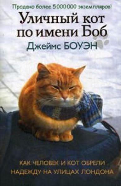 Изображение Уличный кот по имени Боб. Как человек и кот обрели надежду на улицах Лондона